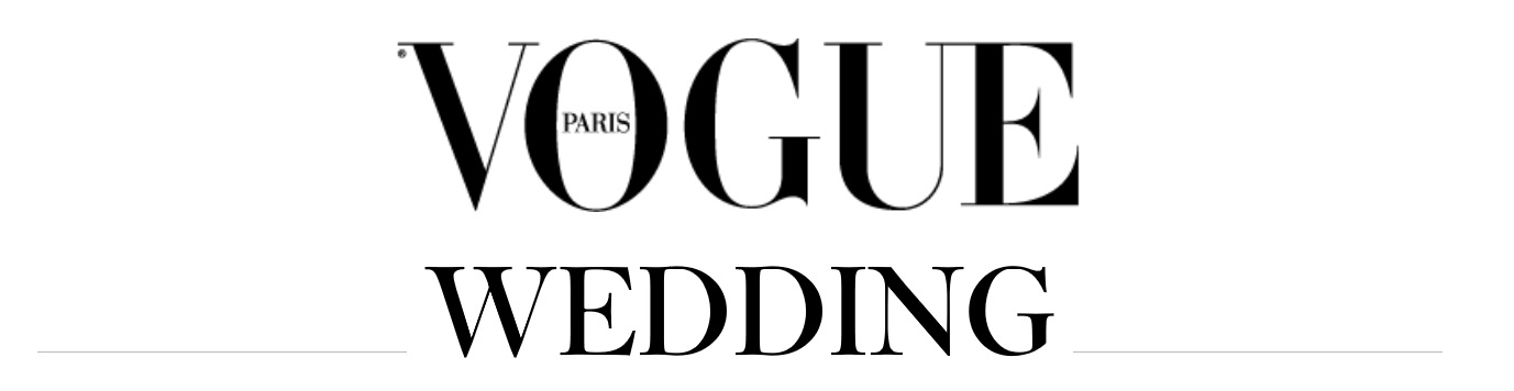vogue paris wedding