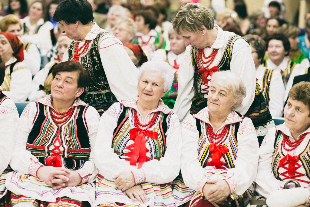 folkowe kobiety