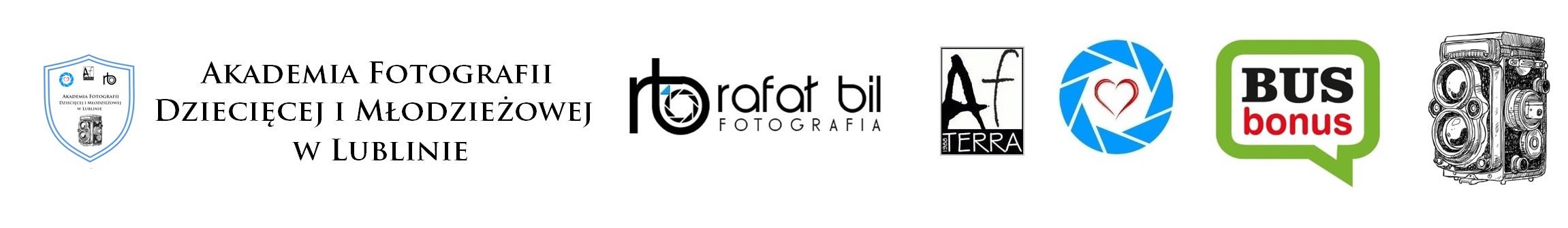 loga Akademii Fotografii Dzieci i Młodzieży w Lublinie
