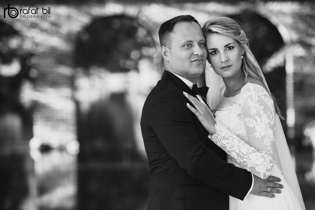 Ania i Michał ślub w plenerze
